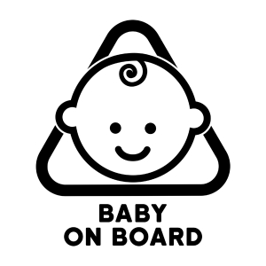 naklejka baby on board