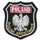 S25 Emblemat POLAND Polish Assistance