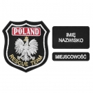 S42 KOMPLET Emblemat POLAND RESCUE TEAM